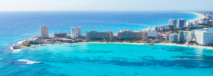 What do Punta Cancun and Puerto Morelos have in common?