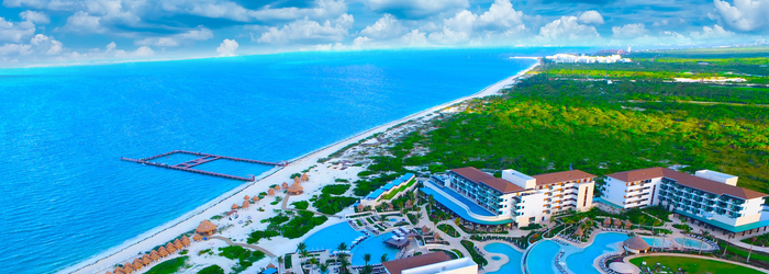 Discover a completely natural habitat for swimming with dolphins in Cancun!
