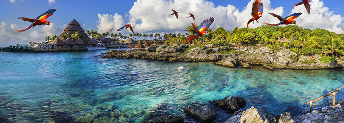 How to get to Xcaret? The best eco archaeological in the Caribbean