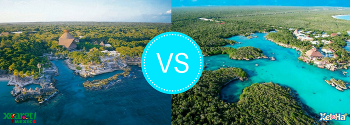 Xcaret vs Xel-há: which park is better?