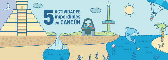 (INFOGRAPHIC) 5 must-do activities in Cancun