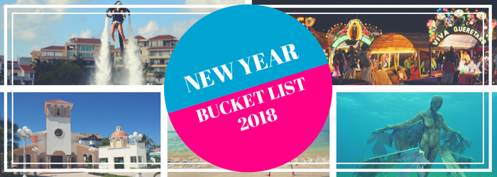 New Year Bucket List: All the MUSTS for 2018