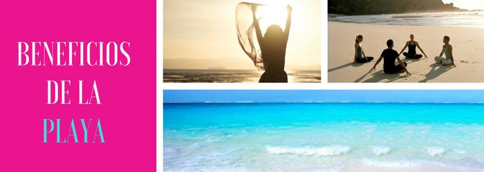 Beneficios de ir a la playa